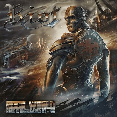 Riot - Rock World (Slipcase)