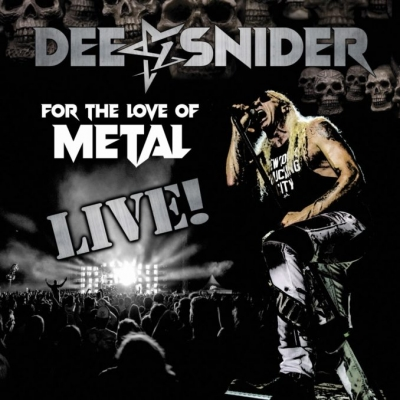 Dee Snider - For The Love Of Metal Live 2CD +DVD Digipack
