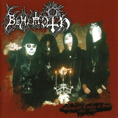 Behemoth (BR) - Malignant Temple Of Goat 1992-1993