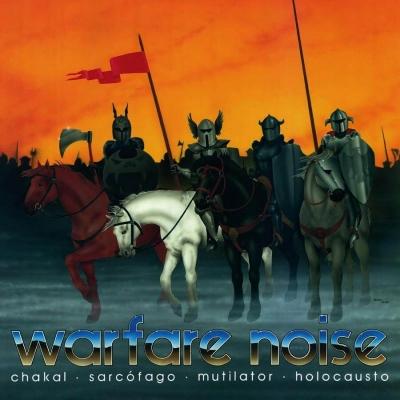Warfare Noise - Chakal, Sarcofago, Mutilator, Holocaust (Slipcase)