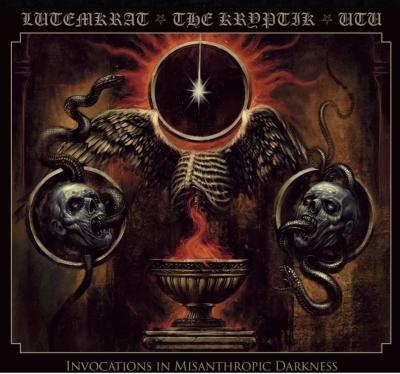 Lutemkrat /The Kryptik/Utu - Invocations in Misanthropic Darkness (Digipack)