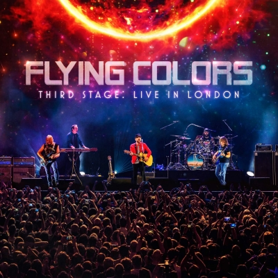 Flying Colors - Third Stage - Live in London ( CD Duplo e DVD Digipack)