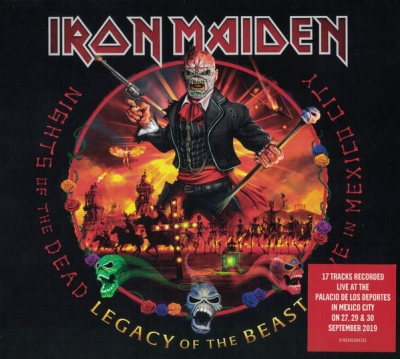 Iron Maiden - Nights Of The Dead - Legacy Of The Beast - Live in Mexico (CD Duplo Digipack)