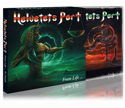 Helvetets Port - From Life To The Death (Importado com Slipcase )