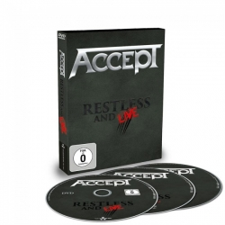 Restless And Live DVD + 2 CD's
