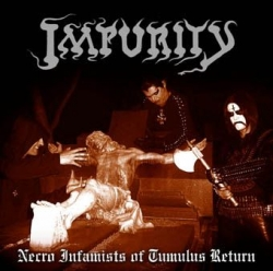 Necro Infamists of Tumulus Return (Digipack)