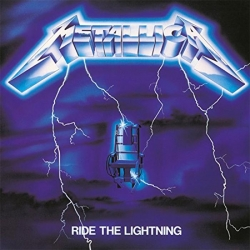 Ride The Lightning (Capa Acrílica)