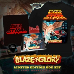 Blaze of Glory (Importado CD Box Set + Camiseta+ palheta)